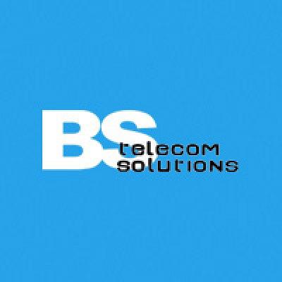 BS Telecom Solutions logo