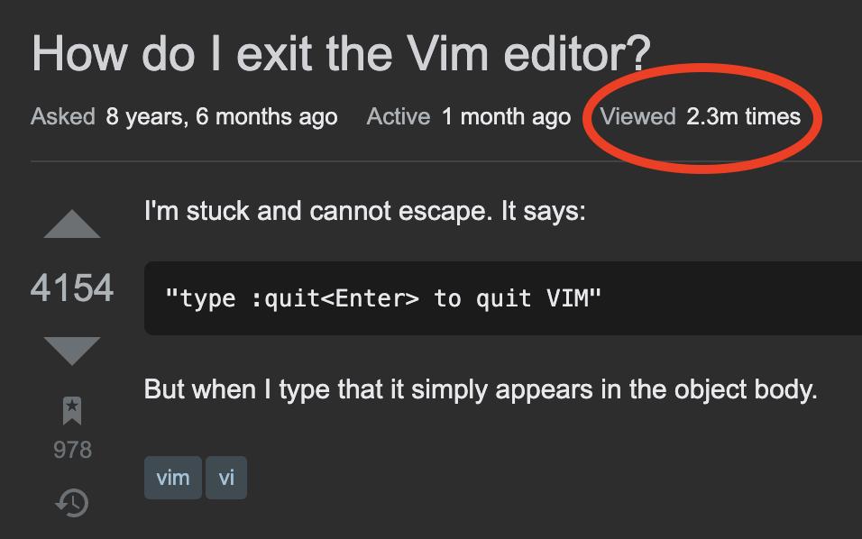 Kako zatvoriti VIM?