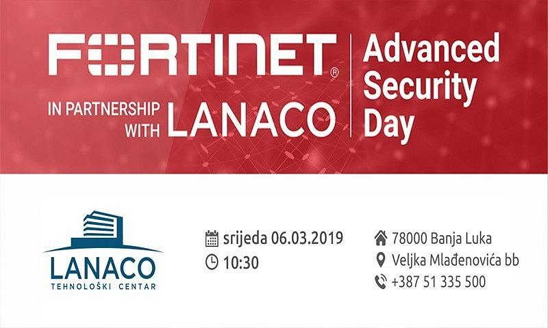 Fortinet i LANACO organizuju Advanced Security Day