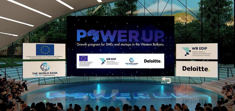 Finale PowerUP Programa za podršku kompanijama sa područja Zapadnog  Balkana